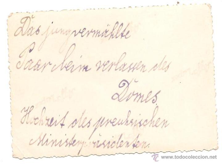 Militaria: BODA DE HERMANN GÖRING EN PAPEL ORIGINAL AGFA LUPEX - Foto 2 - 43911455