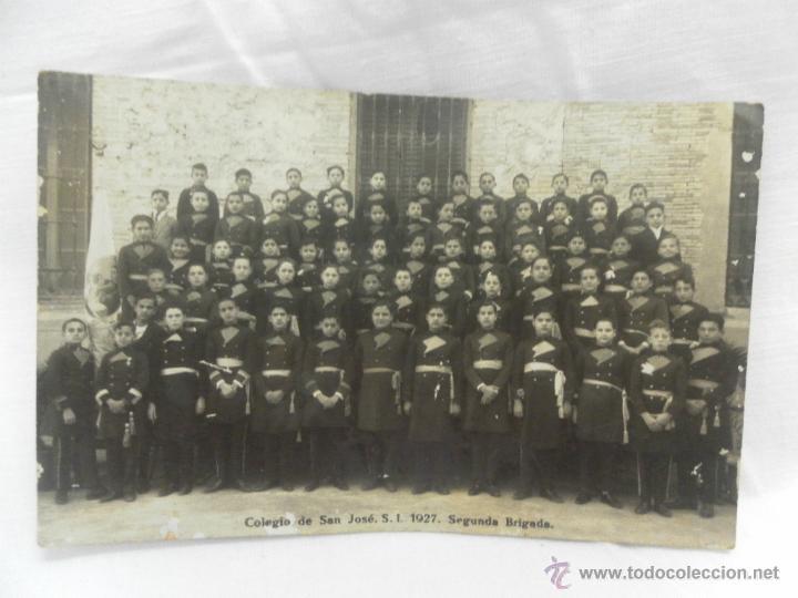 COLEGIO SAN JOSÉ. S.I. 1927. SEGUNDA BRIGADA. (Militar - Fotografía Militar - Otros)