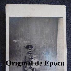 Militaria: (JX-1471)FOTOGRAFIA DE GUARDIA CIVIL,EPOCA ALFONSINA. Lote 43943176