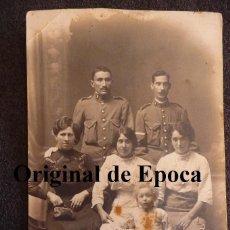 Militaria: (JX-14712)FOTOGRAFIA DE DOS GUARDIA CIVILES,EPOCA ALFONSINA. Lote 43943249