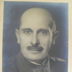 Militaria: FOTO DE ESTUDIO DEL GENERAL FIDEL DÁVILA , ORIGINAL. DE STUDIO PARIS ..... 18 X 24 CM. Lote 44076098