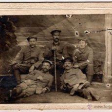 Militaria: ANTIGUA FOTOGRAFIA MILITARES PRUSIANOS, PRUSIA (ALEMANIA). CABINET PORTRAIT. Lote 44112371