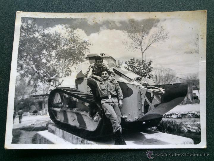 ANTIGUA FOTO MILITAR EJERCITO ESPAÑOL.7X10CM (Militar - Fotografía Militar - Otros)