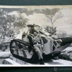 Militaria: ANTIGUA FOTO MILITAR EJERCITO ESPAÑOL.7X10CM. Lote 44124075