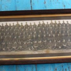 Militaria: ANTIGUA Y EXCEPCIONAL FOTOGRAFIA PANORAMICA - B. C OY 2/7 TH REAL BATALLON ESCOCES - CHELMSFORD AÑO. Lote 44345430