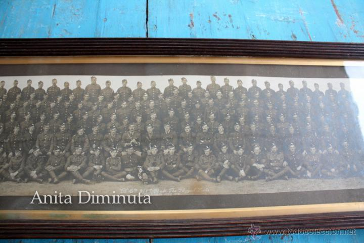 Militaria: ANTIGUA Y EXCEPCIONAL FOTOGRAFIA PANORAMICA - B. C oy 2/7 TH REAL BATALLON ESCOCES - CHELMSFORD AÑO - Foto 3 - 44345430