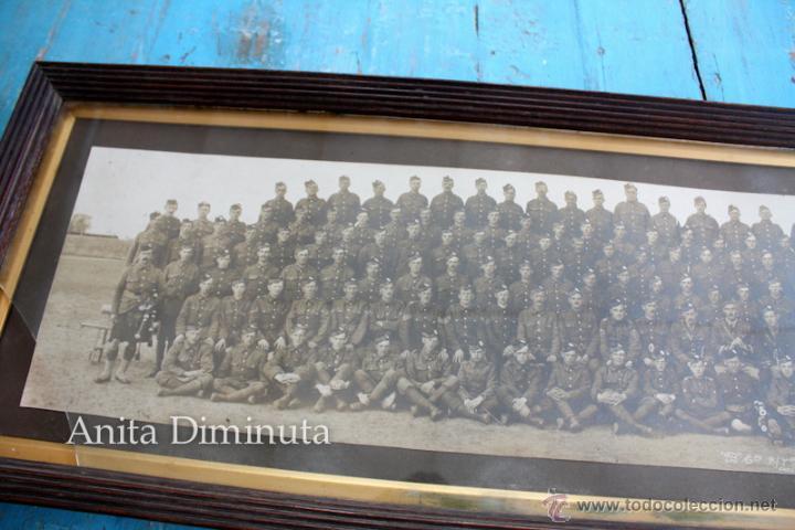 Militaria: ANTIGUA Y EXCEPCIONAL FOTOGRAFIA PANORAMICA - B. C oy 2/7 TH REAL BATALLON ESCOCES - CHELMSFORD AÑO - Foto 4 - 44345430