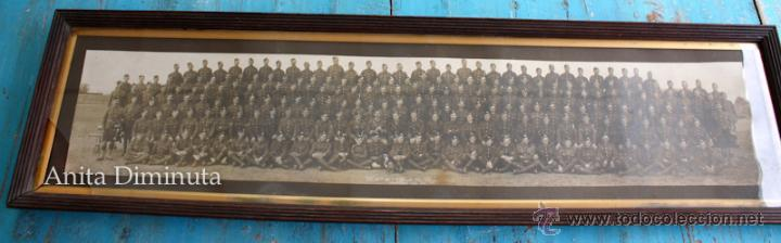 Militaria: ANTIGUA Y EXCEPCIONAL FOTOGRAFIA PANORAMICA - B. C oy 2/7 TH REAL BATALLON ESCOCES - CHELMSFORD AÑO - Foto 10 - 44345430