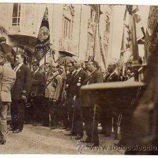 Militaria: SOMETENT ARMAT. ACTO CELEBRADO EN BARCELONA. APROX. AÑOS 1930S FOTO ORIGINAL 11 X 8,5 CTMS.. Lote 44376042