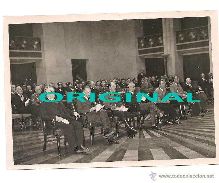 DR. GOEBBELS CON DIFERENTES AUTORIDADES EL 27 DE MAYO DE 1938 (Militar - Fotografía Militar - II Guerra Mundial)