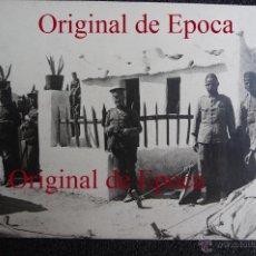 Militaria: (JX-1586)FOTOGRAFIA DE D.GERARDO GONZALEZ,PUESTO DE LA POLICIA INDIGENA ACABADO,CAMPAÑA DEL RIF. Lote 44553177