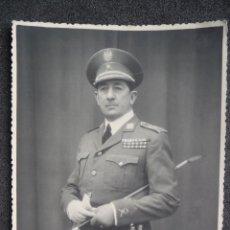 Militaria: (JX-1600)FOTOGRAFIA DEL GENERAL D.GERADO GONALEZ LONGORIA. Lote 44629527