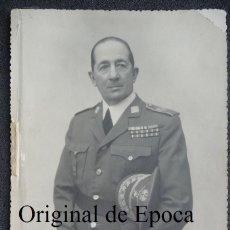Militaria: (JX-1601)FOTOGRAFIA DEL GENERAL D.GERADO GONALEZ LONGORIA. Lote 44629605