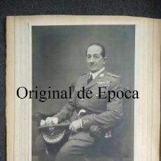 Militaria: (JX-1602)FOTOGRAFIA DEL GENERAL D.GERADO GONALEZ LONGORIA. Lote 44629683