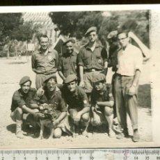 Militaria: FOTGRAFIA OJE FRENTE DE JUVENTUDES, FALANGE. Lote 44975686