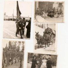 Militaria: 7 FOTOS DE MILITARES. Lote 45041962