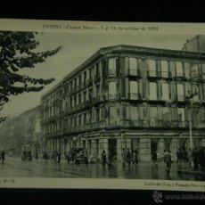 Militaria: OVIEDO CIUDAD MÁRTIR 5 AL 14 OCTUBRE 1934 SERIE I Nº 6 CALLE DE URÍA Y POSADA HERRERA. Lote 45078735