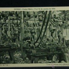 Militaria: OVIEDO CIUDAD MÁRTIR 5 AL 14 OCTUBRE 1934 SERIE II Nº 14 TALLER DE CAÑONES DE LA FÁBRICA DE ARMAS. Lote 45080669