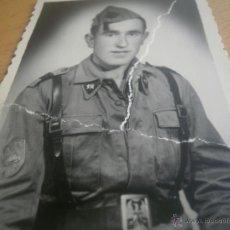 Militaria: FOTOGRAFÍA CABO DIVISIÓN ACORAZADA BRUNETE. GETAFE. Lote 45215361