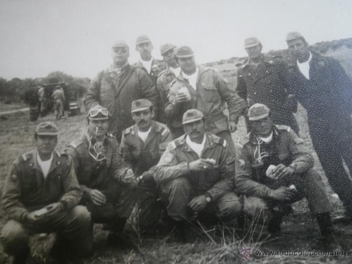 FOTOGRAFÍA CABOS DIVISIÓN ACORAZADA BRUNETE. (Militar - Fotografía Militar - Otros)