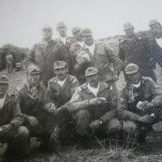 Militaria: FOTOGRAFÍA CABOS DIVISIÓN ACORAZADA BRUNETE.. Lote 45218887