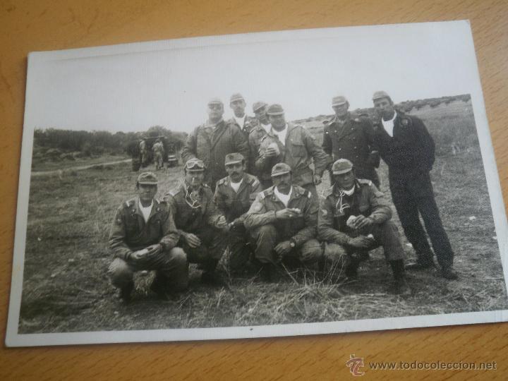 Militaria: Fotografía cabos División Acorazada Brunete. - Foto 2 - 45218887