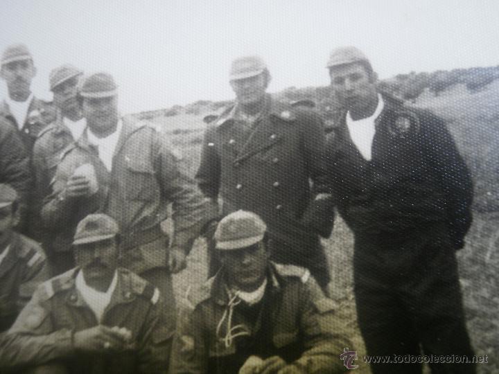 Militaria: Fotografía cabos División Acorazada Brunete. - Foto 5 - 45218887