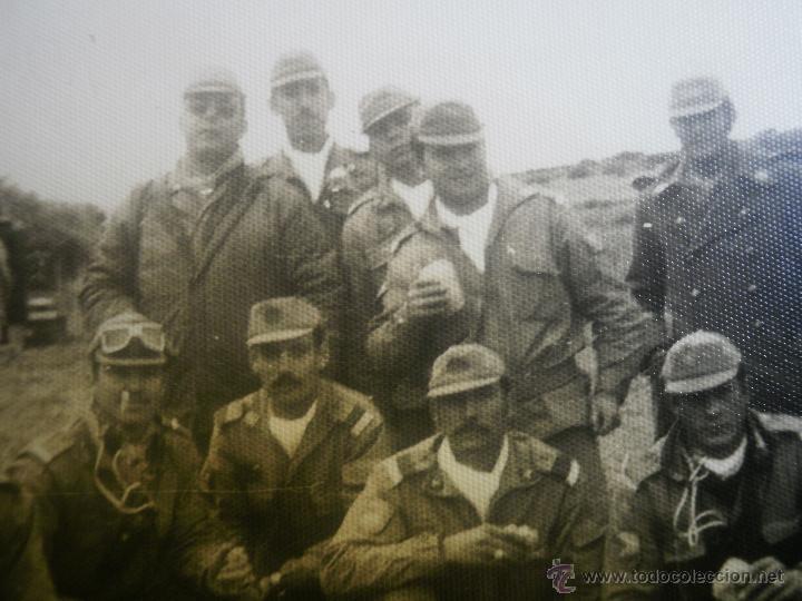 Militaria: Fotografía cabos División Acorazada Brunete. - Foto 8 - 45218887
