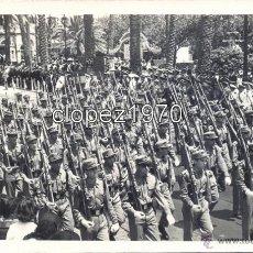 Militaria: LAS PALMAS DE GRAN CANARIA, 1959, DESFILE MILITAR,140X90MM. Lote 45324398