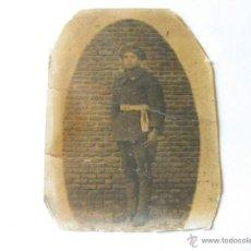 Militaria: FOTOGRAFIA DE UN SOLDADO DEL ARMA DE INGENIEROS - 1931. Lote 45432066