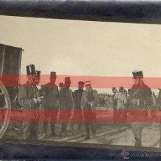 Militaria: GUERRA DEL RIF. ANTIGUA FOTO MILITAR. PAPEL FINO.101 X 15 CM. Lote 45463390