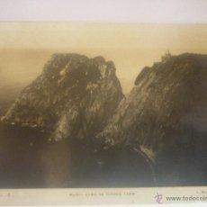 Militaria: FOTOGRAFÍA DE L.ROISIN MUSEL CABO DE TORRES, CIRCULADA, CON SELLO CENSURA MILITAR, GIJÓN. CENSOR N13. Lote 45614873