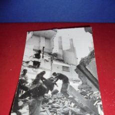 Militaria: ANTIGUA FOTOGRAFIA ORIGINAL 30 ENERO 1938 BARCELONA BOMBARDEO DE LA POBLACION CIVIL POR LA AVIACION . Lote 45623637