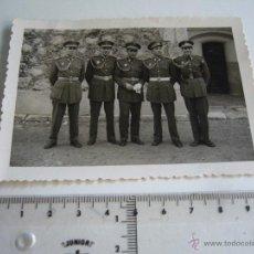 Militaria: FOTOGRAFÍA DE MILITARES ESPAÑOLES. Lote 45704571