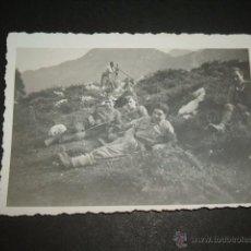 Militaria: CANGAS DE ONIS ASTURIAS GUERRA CIVIL 1937 SOLDADOS LEGION CONDOR FOTOGRAFIA LEGION CONDOR. Lote 45710802