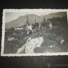 Militaria: CANGAS DE ONIS ASTURIAS GUERRA CIVIL 1937 SOLDADOS LEGION CONDOR FOTOGRAFIA LEGION CONDOR. Lote 45710812