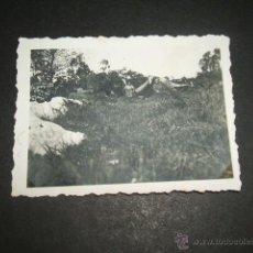 Militaria: CANGAS DE ONIS ASTURIAS GUERRA CIVIL 1937 SOLDADOS LEGION CONDOR FOTOGRAFIA LEGION CONDOR. Lote 45710841