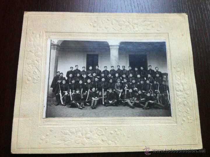IMPORTANTE FOTOGRAFÍA DEL 2º REGIMIENTO DE ZAPADORES MINADORES. PARQUE DE EA PA. EPOCA ALFONSO XIII. (Militar - Fotografía Militar - Otros)
