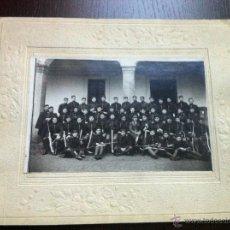Militaria: IMPORTANTE FOTOGRAFÍA DEL 2º REGIMIENTO DE ZAPADORES MINADORES. PARQUE DE EA PA. EPOCA ALFONSO XIII.. Lote 45830477
