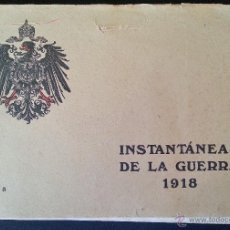 Militaria: INSTANTÁNEAS DE LA GUERRA 1918 Nº 3 32 LÁMINAS FOTOGRÁFICAS I GUERRA MUNDIAL. Lote 45843875