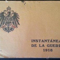 Militaria: INSTANTÁNEAS DE LA GUERRA 1918 Nº 4 32 LÁMINAS FOTOGRÁFICAS I GUERRA MUNDIAL. Lote 45843935
