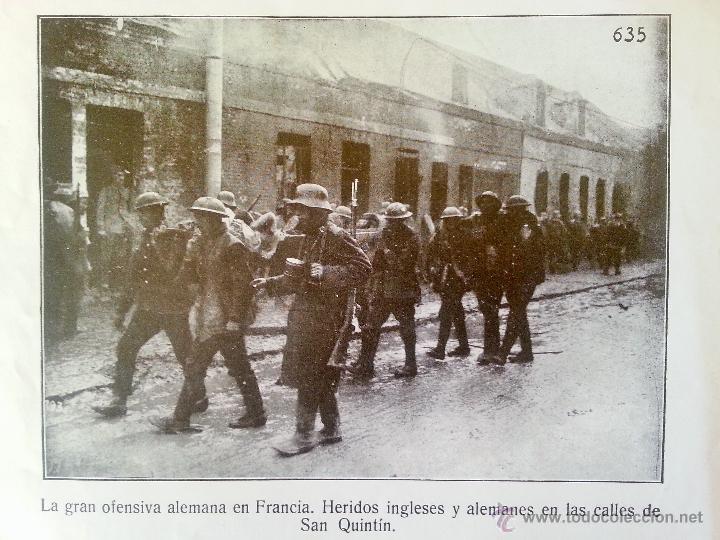 Militaria: INSTANTÁNEAS DE LA GUERRA 1918 Nº 4 32 LÁMINAS FOTOGRÁFICAS I GUERRA MUNDIAL - Foto 2 - 45843935