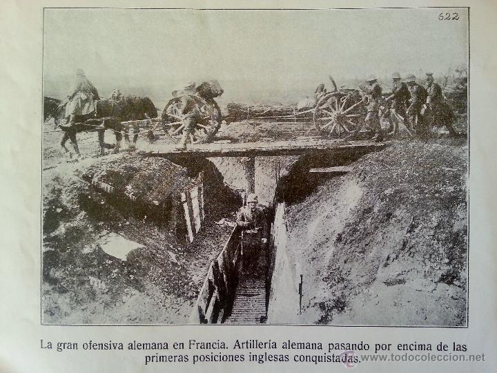 Militaria: INSTANTÁNEAS DE LA GUERRA 1918 Nº 4 32 LÁMINAS FOTOGRÁFICAS I GUERRA MUNDIAL - Foto 3 - 45843935