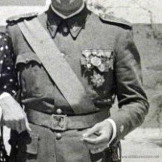 Militaria: FOTOGRAFIA MILITAR ANTIGUA, OFICIAL EJERCITO ESPAÑOL, ESTUDIO JOSE SOLANA, VALENCIA. Lote 45962576