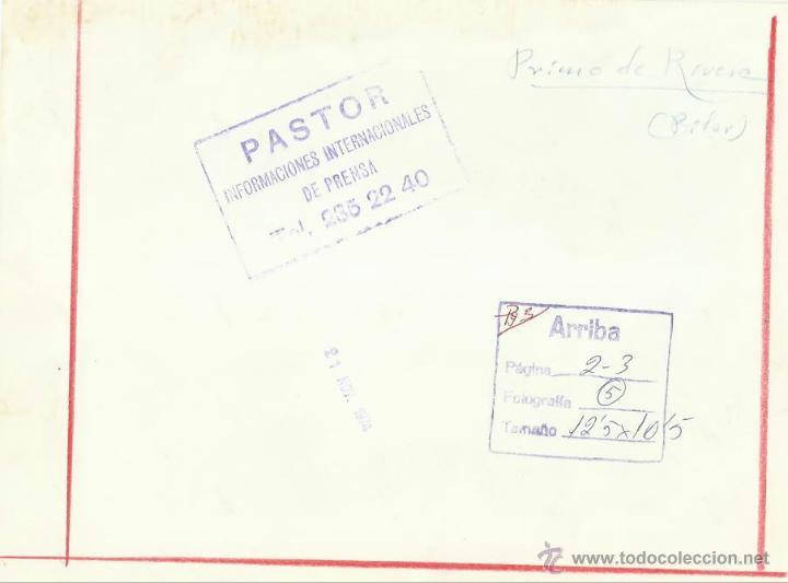 Militaria: Falange. Pilar Primo de Rivera. 1974. - Foto 2 - 46153414