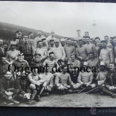 Militaria: (JX-1841)FOTOGRAFIA DE ALFONSO XIII,CON GENERALES,JEFES Y OFICIALES,TOLEDO?ARCHIVO D.L.PUMAROLA. Lote 46153731