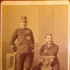 Militaria: GIBRALTAR FOTOGRAFIA DE CAVILLA - BRUZON DE UN TENIENTE CORONEL DIM. 16,5 X 11 CM.. Lote 46166309