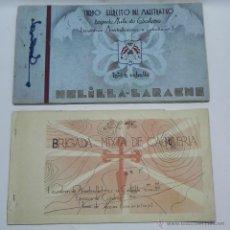Militaria: ALBUM DEL CUERPO EJERCITO DEL MAESTRAZGO, BRIGADA MIXTA DE CABALLERIA ESCUADRON AMETRALLADORAS A CAB. Lote 46167939