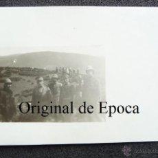 Militaria: (JX-1853)FOTOGRAFIA DE JEFES Y OFICIALES,CAMPAÑA DE AFRICA. Lote 46199075