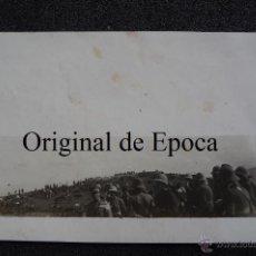 Militaria: (JX-1858)FOTOGRAFIA DE OFICIALES,CAMPAÑA DE AFRICA,ARCHIVO PUMAROLA. Lote 46207731